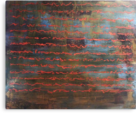 All the Time in the Word - original acrylic painting on wood panel by Marco Sivieri