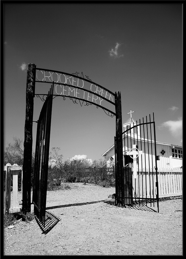 Crooked Creek Cemetery by Rdestruction