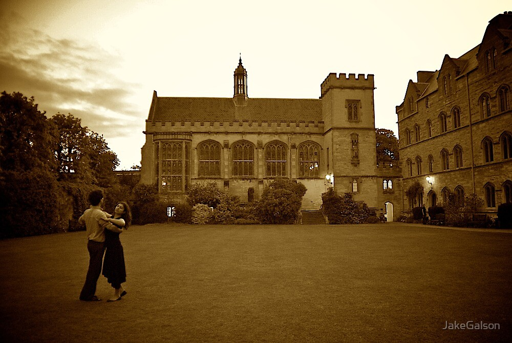 Dancing at Pembroke College, Oxford by JakeGalson
