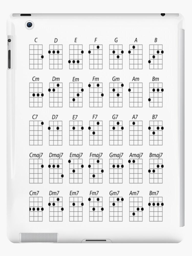 u0026quot ukulele chords u0026quot  ipad cases  u0026 skins by forestkat