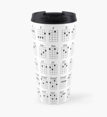 Ukulele Chords Travel Mug