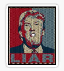 Trump Liar Hässliches Weihnachtst-shirt Sticker