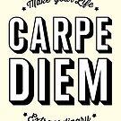 Carpe Diem. Seize The Day! by TheLoveShop