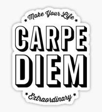 Pegatina Carpe Diem. ¡Aprovecha el día!