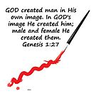 Man Was Created by kj dePace'