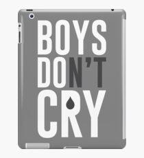 Boys DO Cry iPad Case/Skin