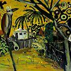 'backyard kookaburra' by glennbrady