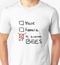 a swarm of bees Slim Fit T-Shirt