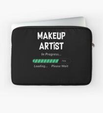 Makeup Artist In Progress Funny Student & Job Gift Laptop Sleeve