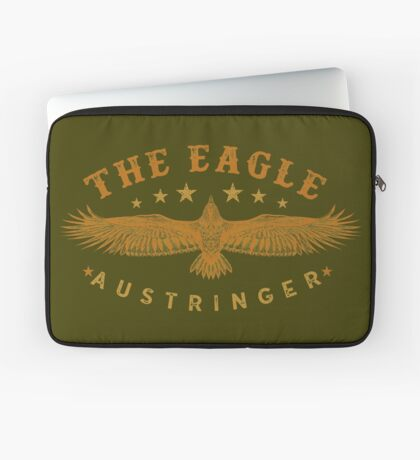 Eagle Austringer's Shirts and GIfts for Falconers Who Fly Eagles in Falconry Laptop Sleeve