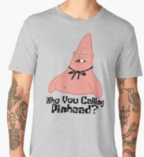 Who You Calling Pinhead? - Spongebob Men's Premium T-Shirt