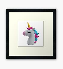 ★ unicorn  Framed Print
