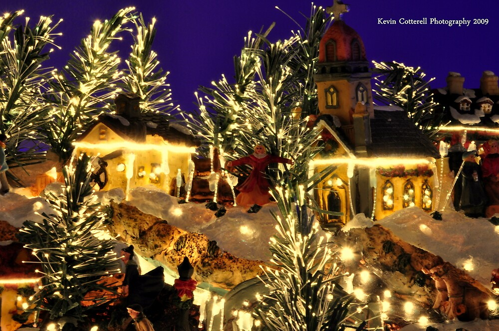 Christmas Village by Kevin Cotterell