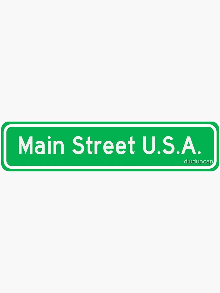 MAIN STREET U.S.A. by dwduncan