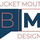 Bucket Mouth Designs Logo (Large) by Samm Poirier