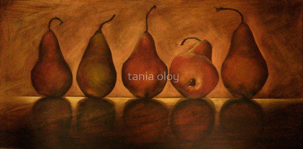 Pears by tania oloy