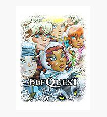 Elfquest Winter Special Photographic Print