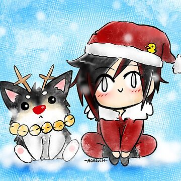 Xmas Zwei and Ruby by NonsuchTheFirst