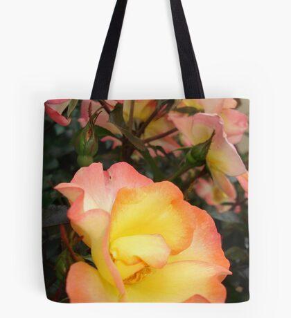Rose, yellow and pink Tote Bag
