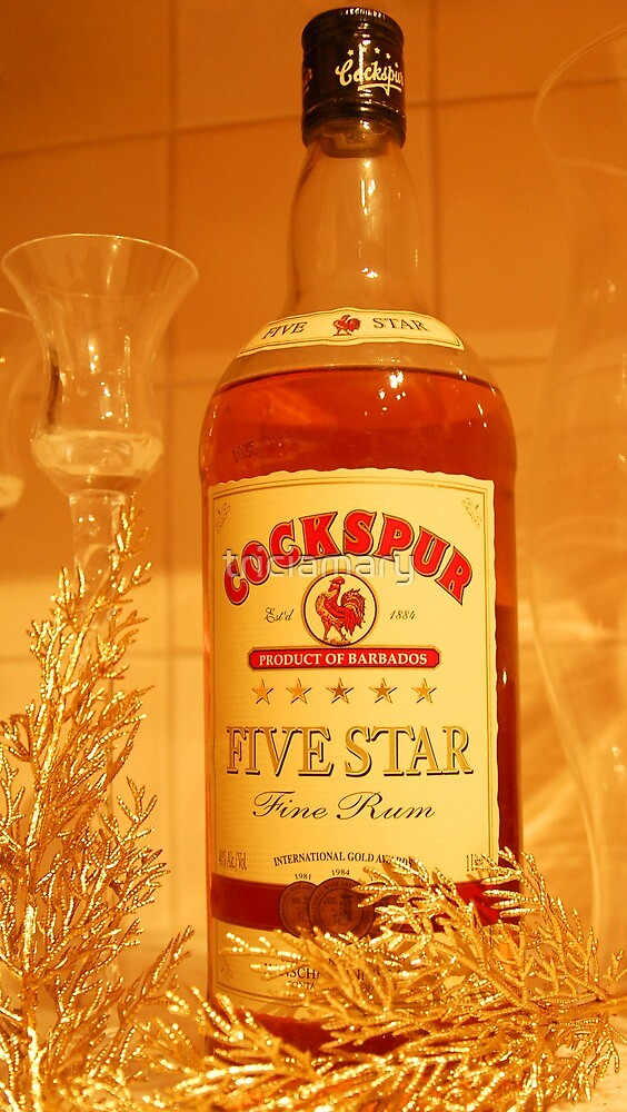 Cockspur rum  by triciamary