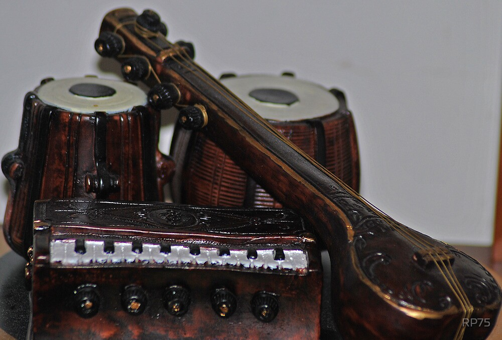 indian classical musical instrument by RP75