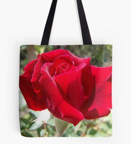 Red rose of summer Tote Bag