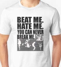 e294b4db8 Beat Me Hate Me You Can Never Break Me: Michael Jackson T-shirt Slim