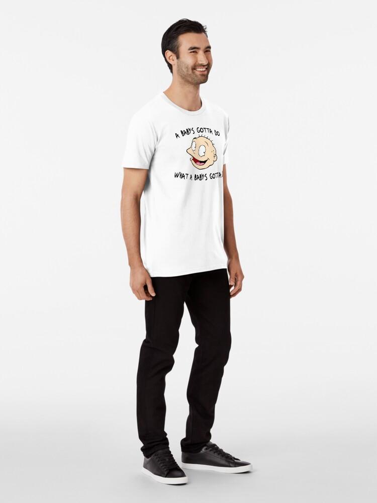 Alternative Ansicht von Ein Baby muss tun, was ein Baby tun muss - Rugrats Premium T-Shirt