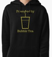 Powered by Bubble Tea Pullover Hoodie