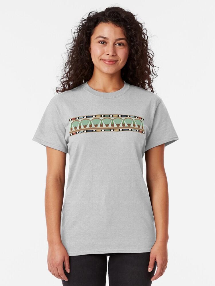 Alternate view of Papyrus frieze Classic T-Shirt