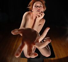 Nude with Hand #5168 by Chris Maher