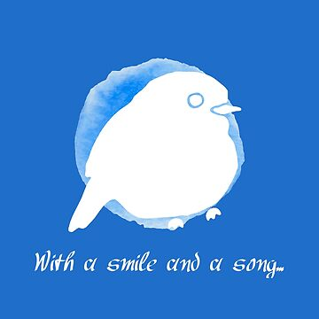 Snow White - Smile and Song Blue Bird by EmmaPopkin