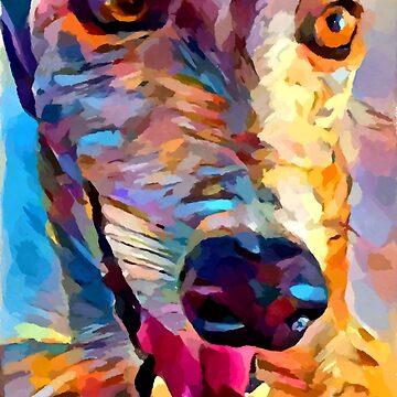 Greyhound by ChrisButler