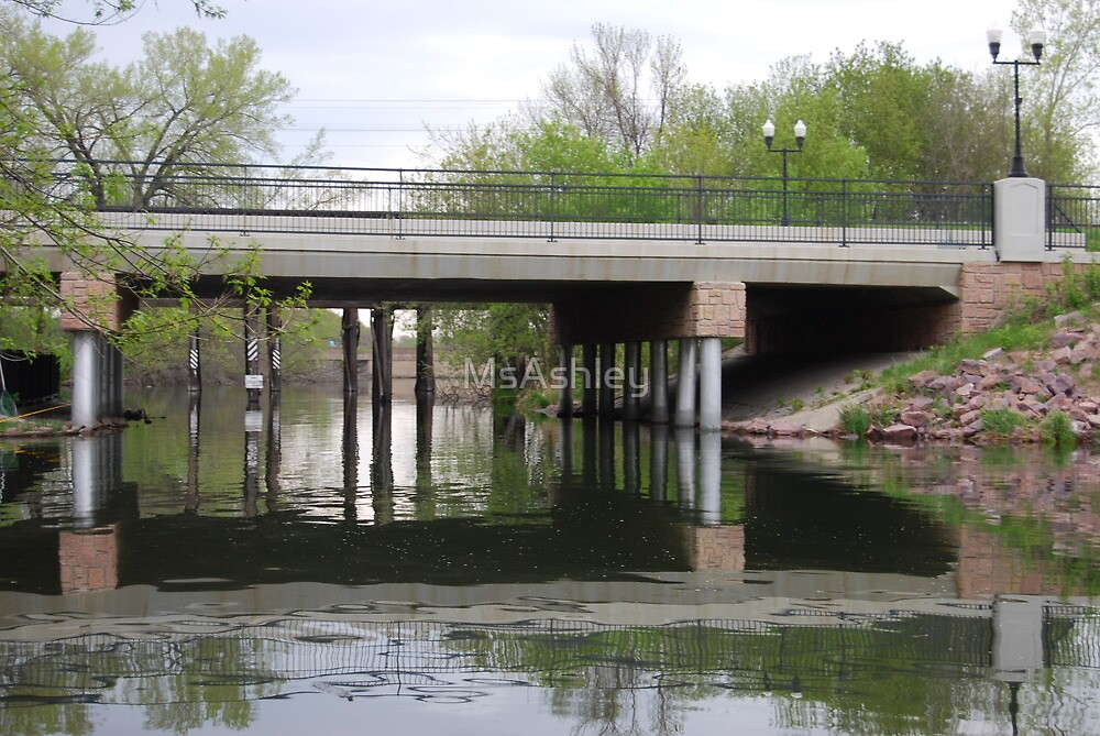 Bridge Over Calm Waters by MsAshley