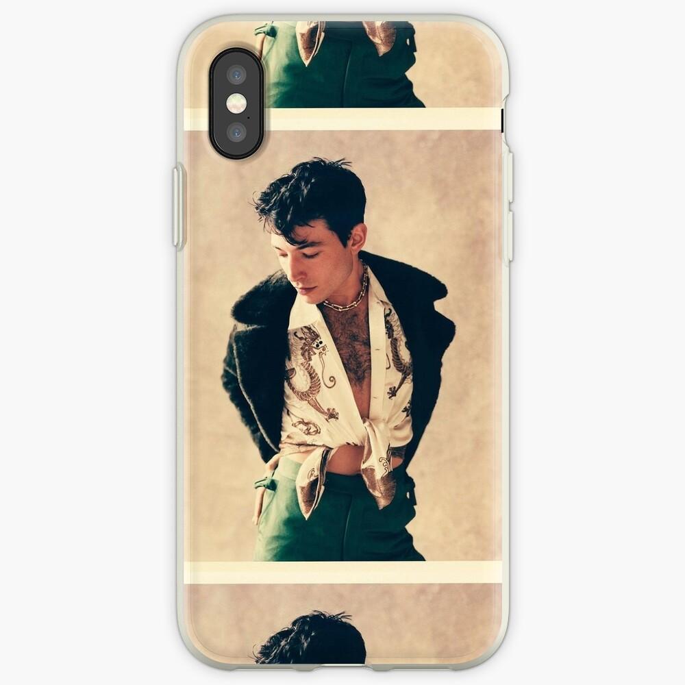 Ezra Miller (GQ Nov 2018) iPhone Case & Cover