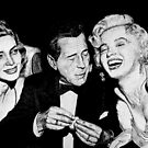 Bacall, Bogey, and Marilyn by ronend