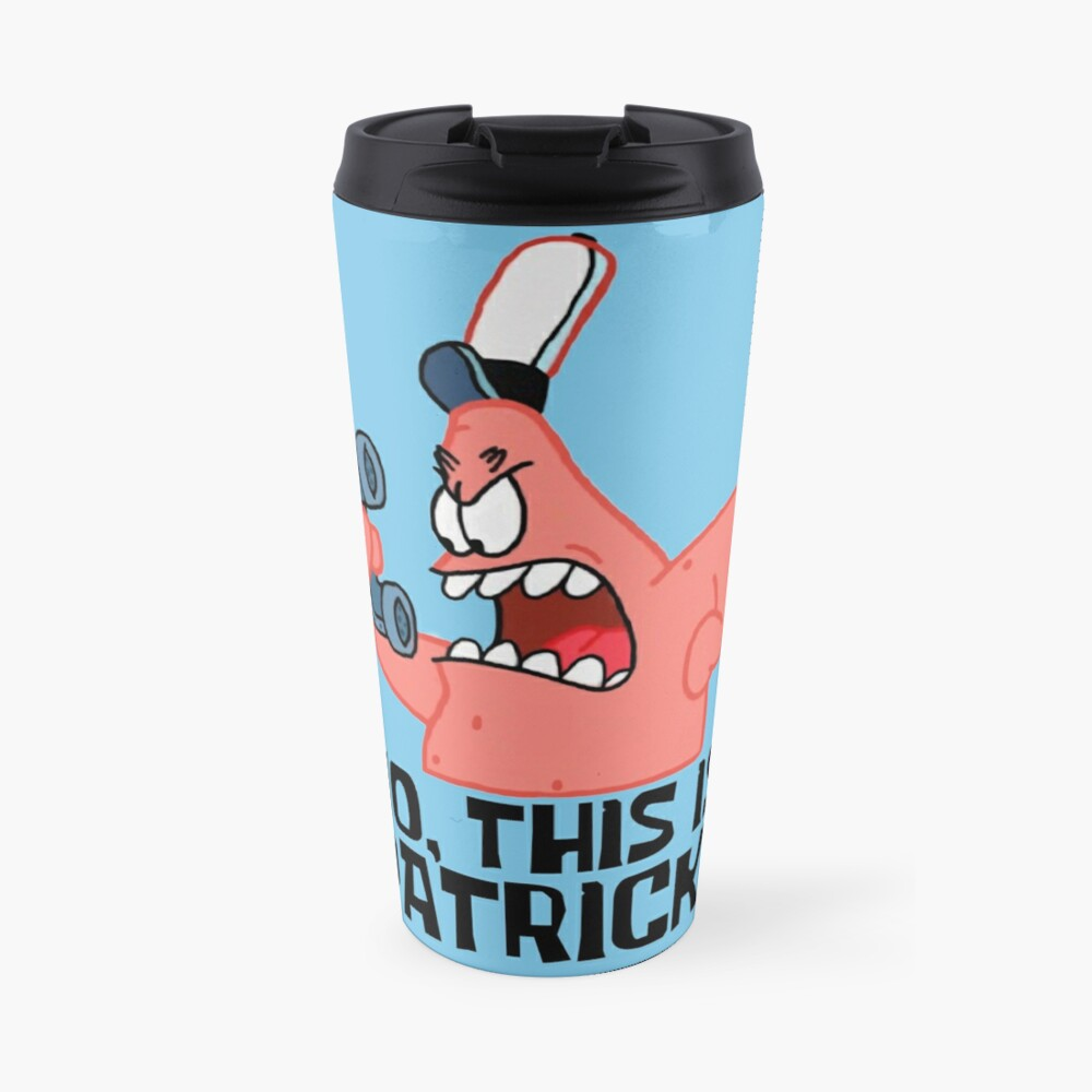 No, This Is Patrick! - Spongebob Travel Mug