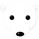 Cartoon Polar Bear Cub by Eric Pauker