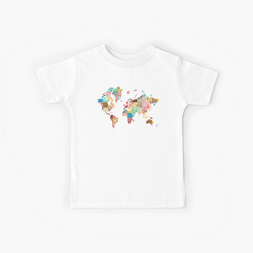 Ser un explorador del mundo Camiseta para niños