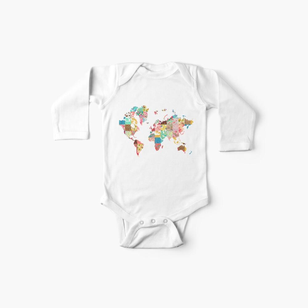 Ser un explorador del mundo Body para bebé