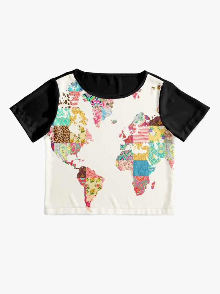 Vista alternativa de Blusa Ser un explorador del mundo
