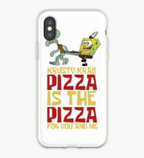 Krusty Krab Pizza - Spongebob iPhone Case