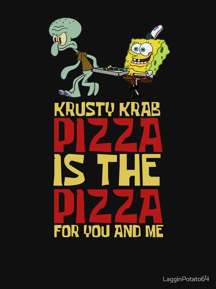 Krusty Krab Pizza - Spongebob von LagginPotato64