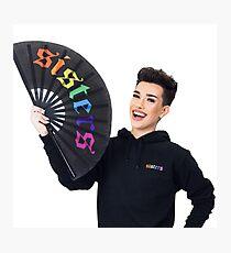 James Charles Rainbow Sisters Merch Fotodruck