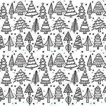 Monochrome Series - Christmas Tree by nadiairianto