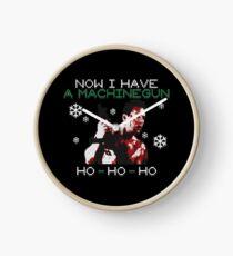 UGLY CHRISTMAS DIE HARD Clock
