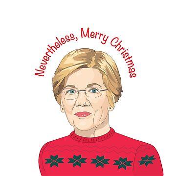 Elizabeth Warren Weihnachten von sszampetti