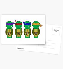 Teenage Mutant Ninja Turtles Postcards