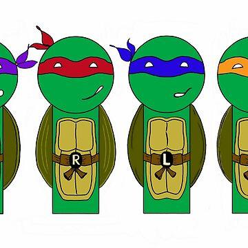 Teenage Mutant Ninja Turtles by mimiboo