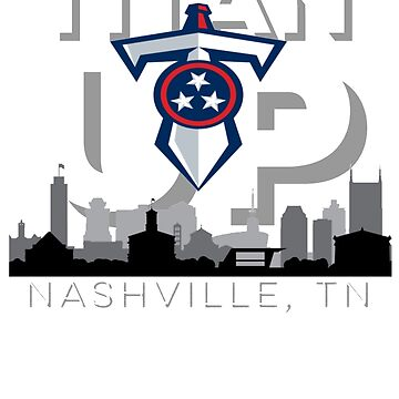 Titan up Nashville Tennessee tee by TimShane